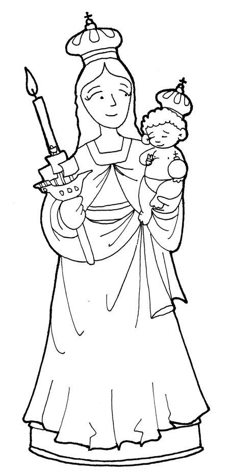 Maria Auxiliadora Png Buscar Con Google Virgen Maria Dibujo