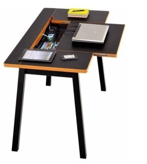 Computer Desk With Storage Box Laptop Home Office Multi Functional ...
