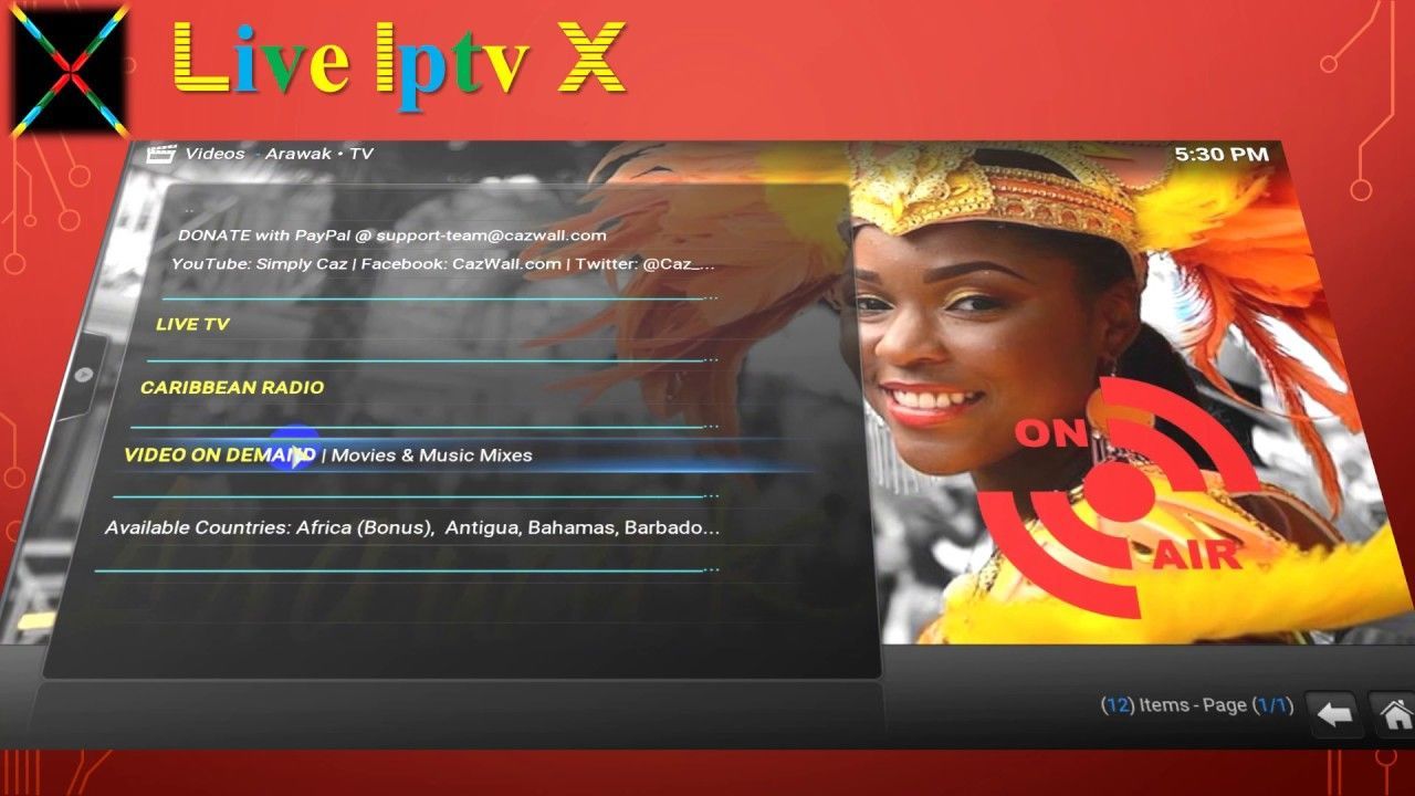 Pin by GNSujay on Live Iptv X Videos | Tv on the radio, Live tv