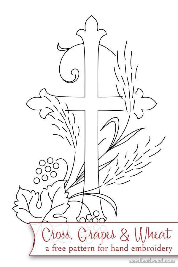 Cruz para bordar | Embroidery | Pinterest | Bordado, Bordado crewel ...