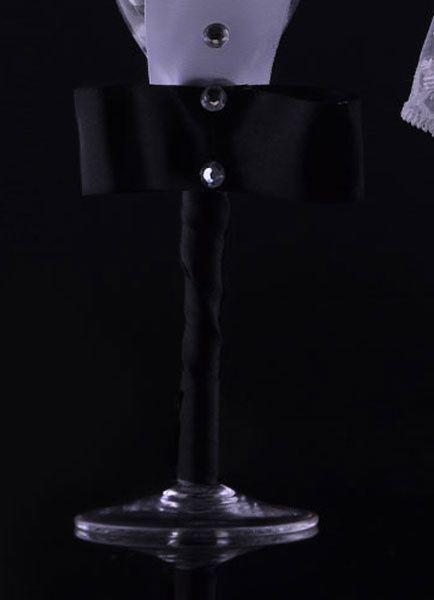 Milanoo / Portion de mariage mis mariée et marié couteau à gâteau et Champagne, flûtes de grillage (38 Cm X 39