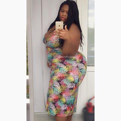 Deborah Olawoyin 60 Mizsthicknesz Tcw Tall Thick Nigerian