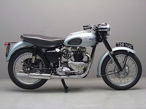 Triumph 1954 Tiger T110 650cc 2 Cyl Ohv Classic Bikes Antique Motorcycles Classic Motorcycles