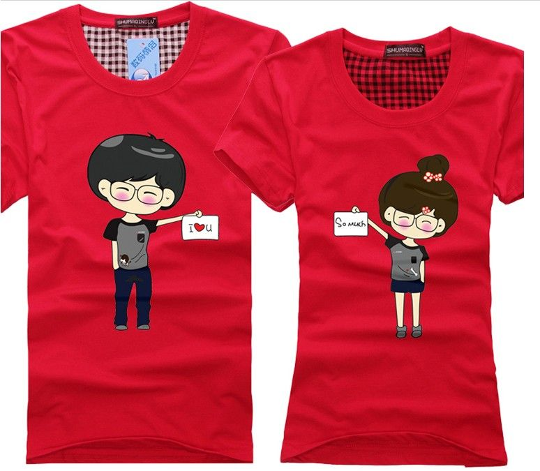 Cheap Couple Shirts Design For Lovers Design Your Own T