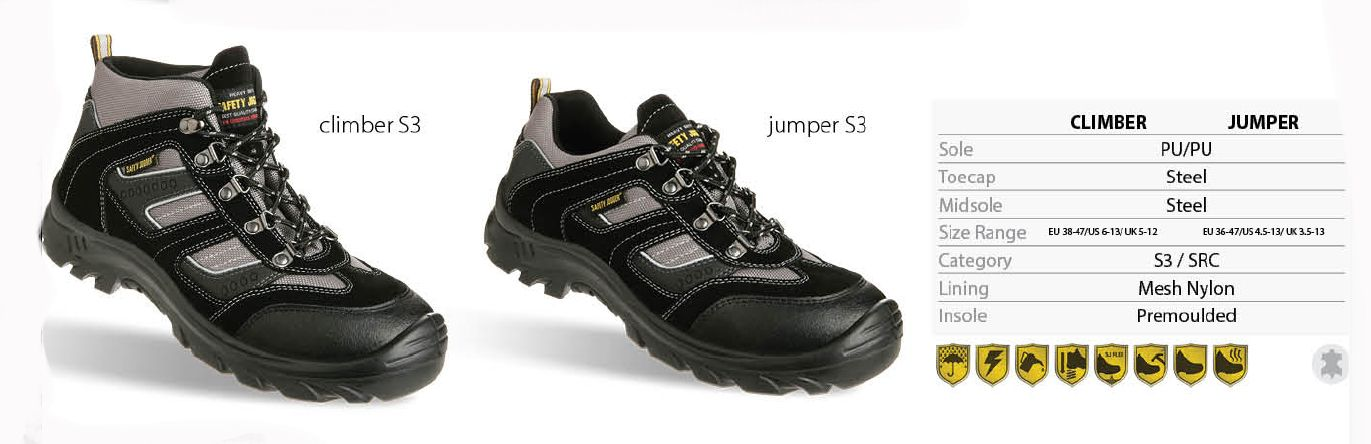 50e8088f3 Jogger Jumper Safety Shoes