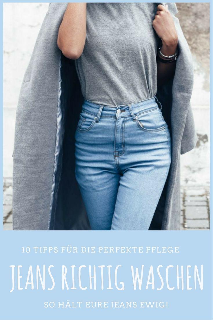 7f9b9a1f29ef Jeans richtig waschen  Mit diesen 10 Tipps bleibt eure Jeans in Form und  hält ewig