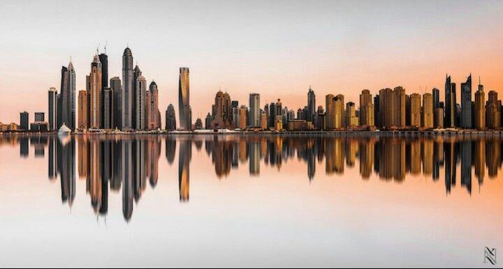 Dubai Landscape Skyline Landscape Photography Cityscape