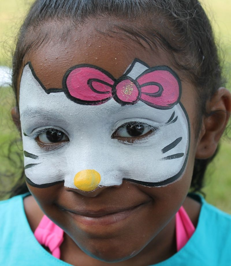 Hello Kitty Face Painting Be A Fan Of My Body Here