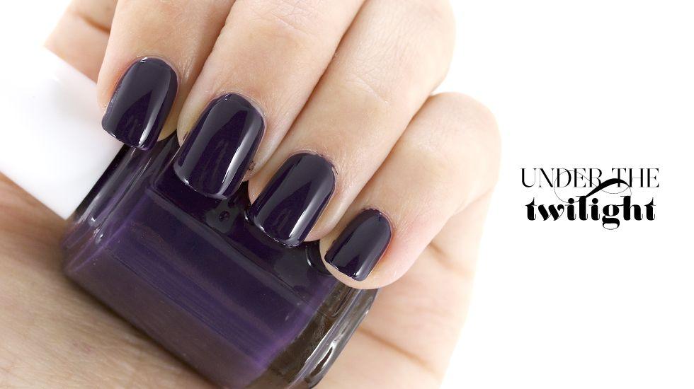 Essie under the twilight | esmaltes | Pinterest | Essie nail polish ...