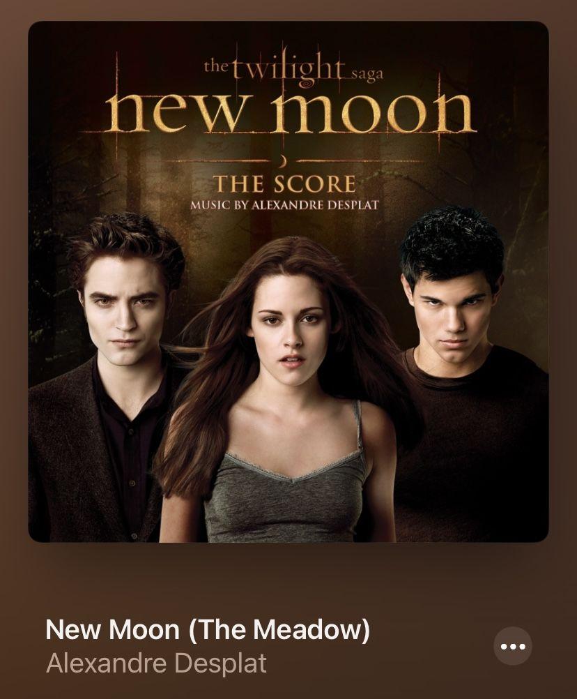 Alexandre Desplat New Moon Twilight Saga New Moon Twilight New Moon Twilight Saga