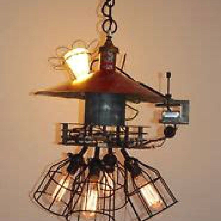 29 awesome industrial lighting plans to accent your brick steel rh pinterest com