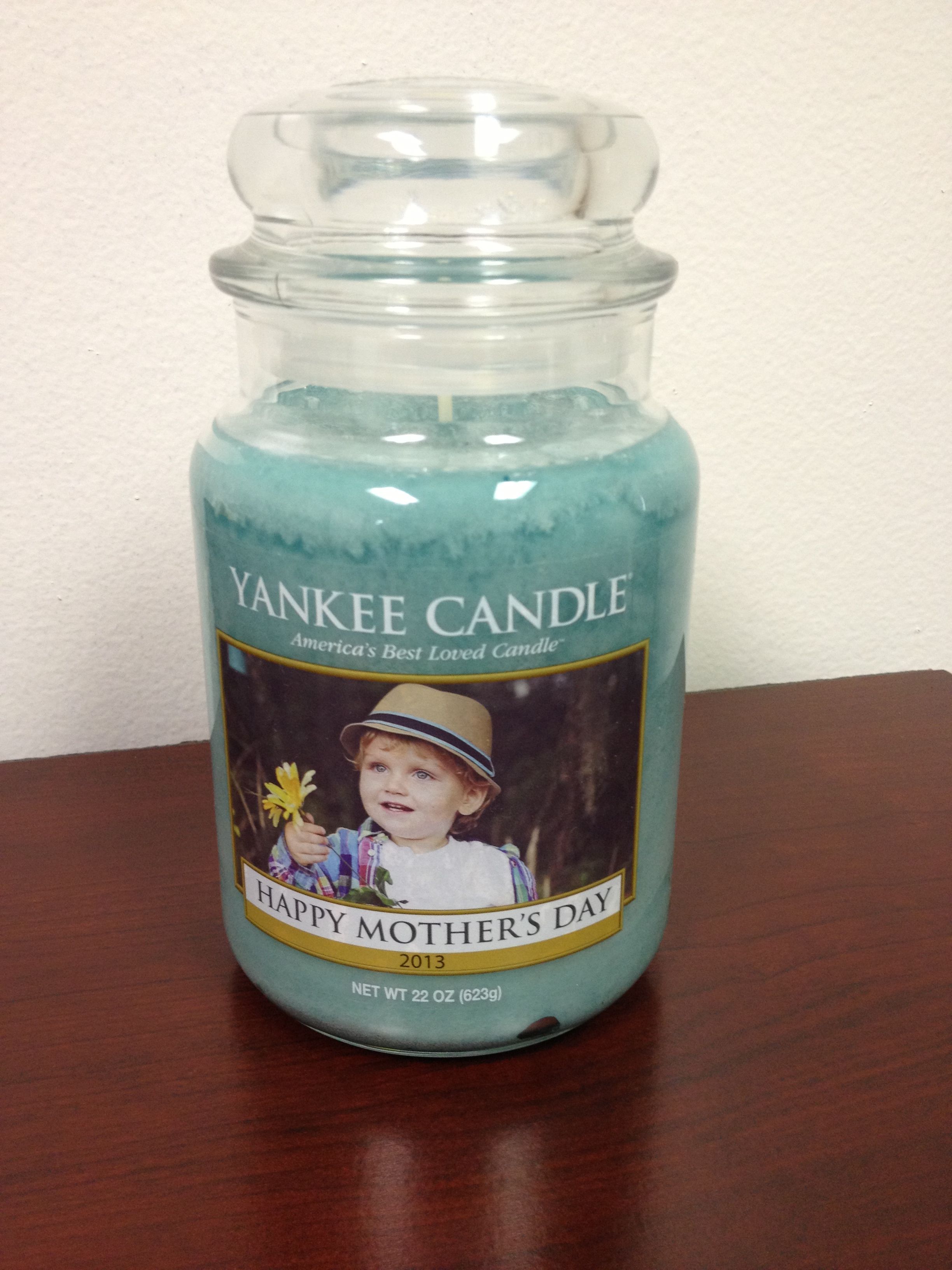 mother 39 s day gift custom candle from yankee candle. Black Bedroom Furniture Sets. Home Design Ideas