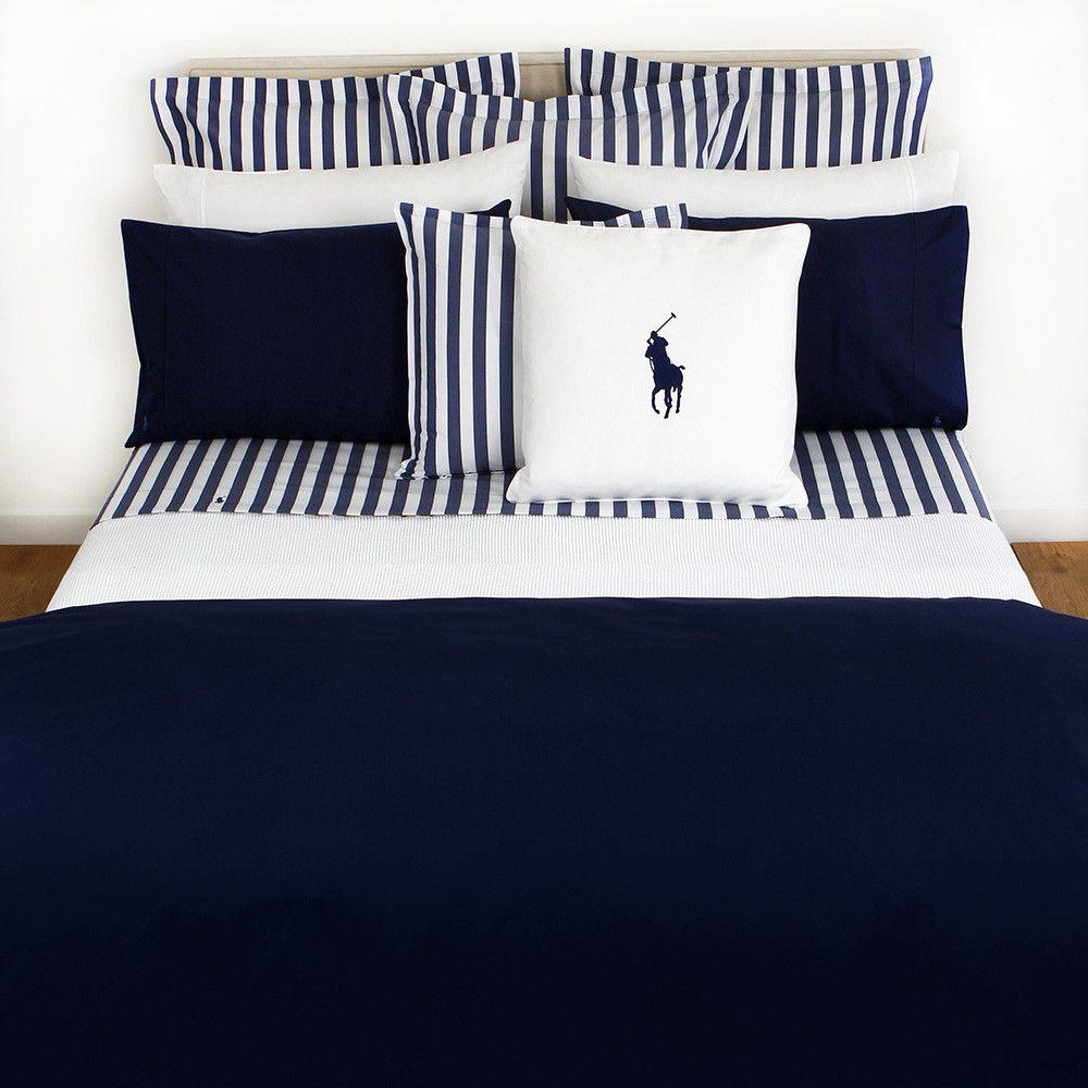 Ralph lauren polo bedding for girls - Discover The Ralph Lauren Home Polo Player Navy Duvet Cover Super King At Amara