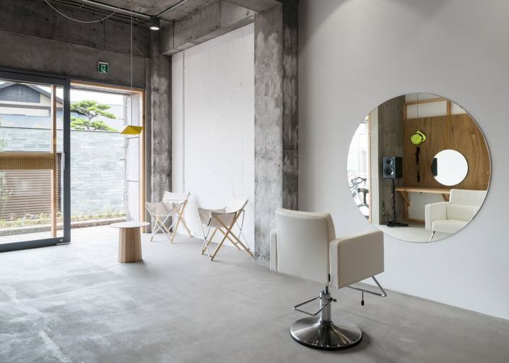 Minimal Hair Salon By Sides Core Accommodates Just One Customer At