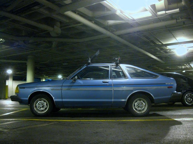 1982 Datsun 210 Hatchback Nice Roofrack Pinterest