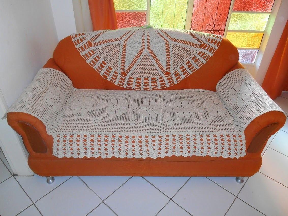 Pin de nina bernal en crochet cubre sof s cubre - Mantas de ganchillo para sofas ...