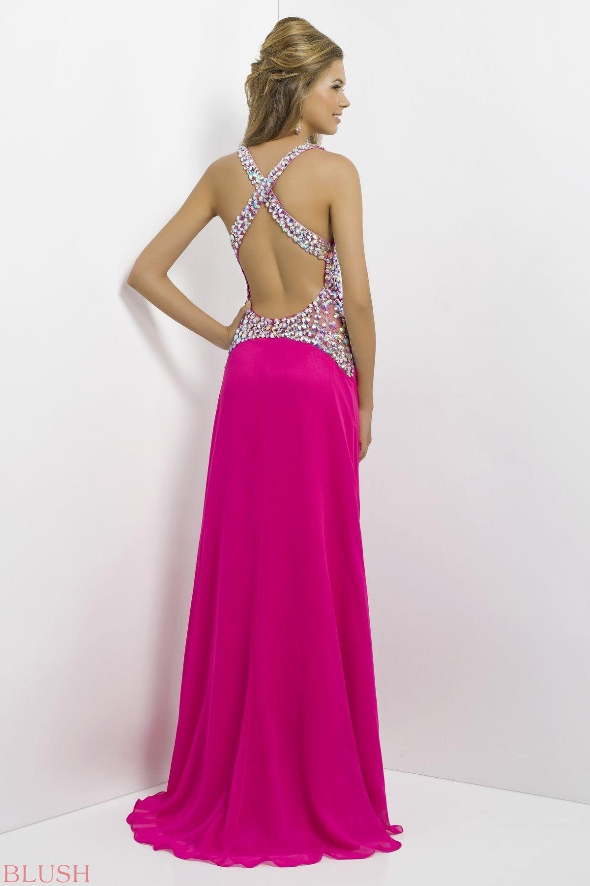 Blush Prom Style 9708 $559.99 Blush   bridesmaid dress collection ...