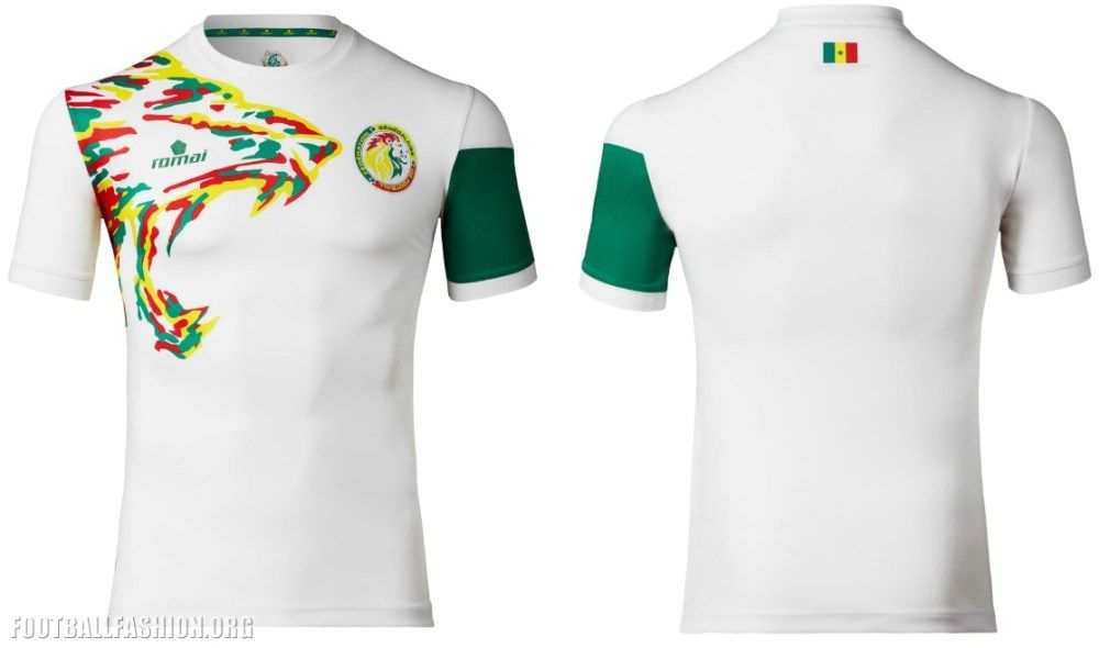 40c9dd6ad Senegal 2017 Africa Cup of Nations Home and Away Football Kit