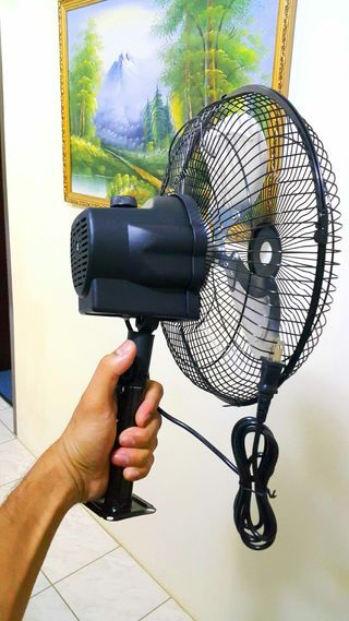 Converting A Pedestal Fan To Wall Mount Pedestal Fan Wall Mounted Fan Wall Fans