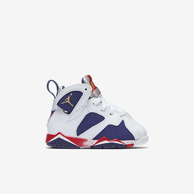 66ef43075a2 Air Jordan 7 Retro (2c-10c) Infant/Toddler Shoe. Nike.com | Babes ...