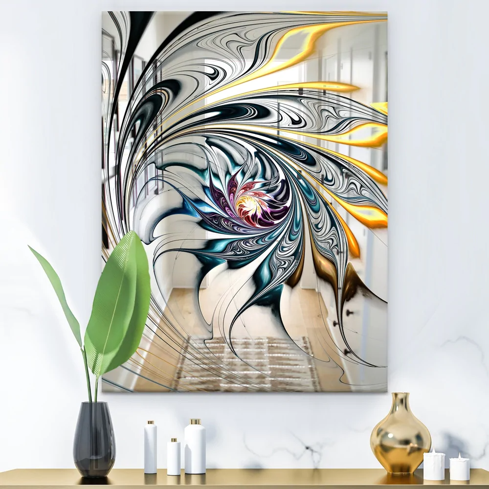 Overstock Com Online Shopping Bedding Furniture Electronics Jewelry Clothing More Modern Mirror Wall Floral Art Design Art