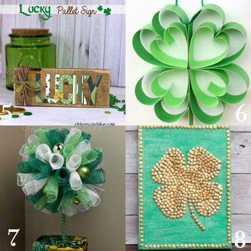 e69fd4e1f8e DIY St Patrick s Day Decorations and home decor. Make beautiful ...