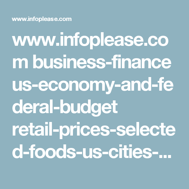 www infoplease com business-finance us-economy-and-federal