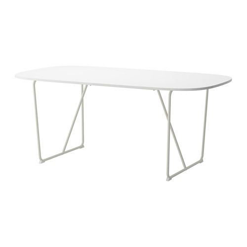 Elegant IKEA   BACKARYD / OPPEBY, Table, The High Gloss Surface Reflects Light And