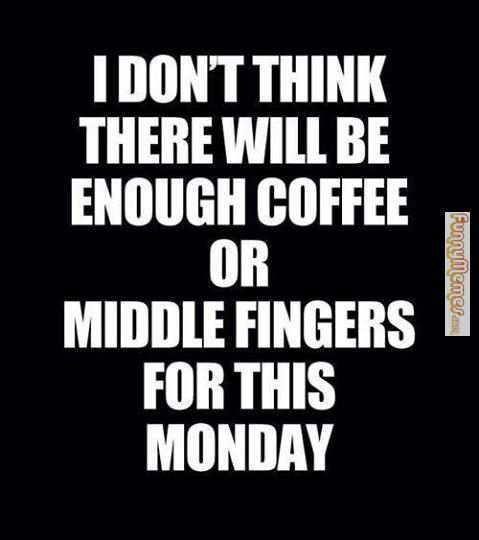 Funny Memes Enough Coffee Of Middle Fingers Jpg 479 540 Funny Quotes Quotes Saying Of The Day