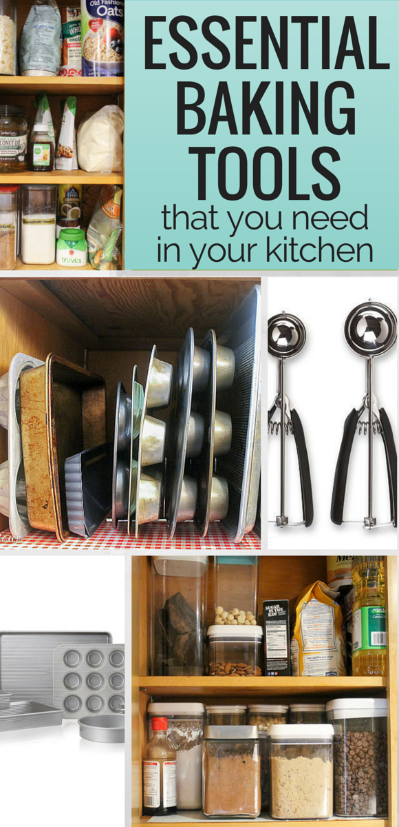 These Are The Best Essential Baking Tools That You Can To Help Make Your Life Much Easier This Post Has Lots Of Tips And Tricks