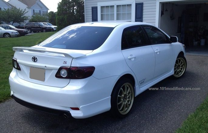Modified Toyota Corolla Altis Sedan Generation Rear