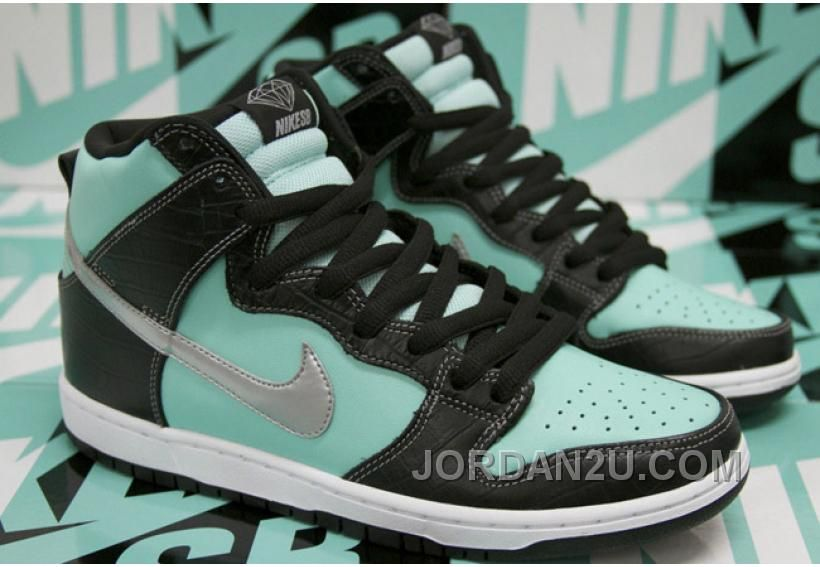 dd68a989bd Diamond X Nike SB Dunk High Tiffany 653599-400 Men | Nike SB Dunk ...