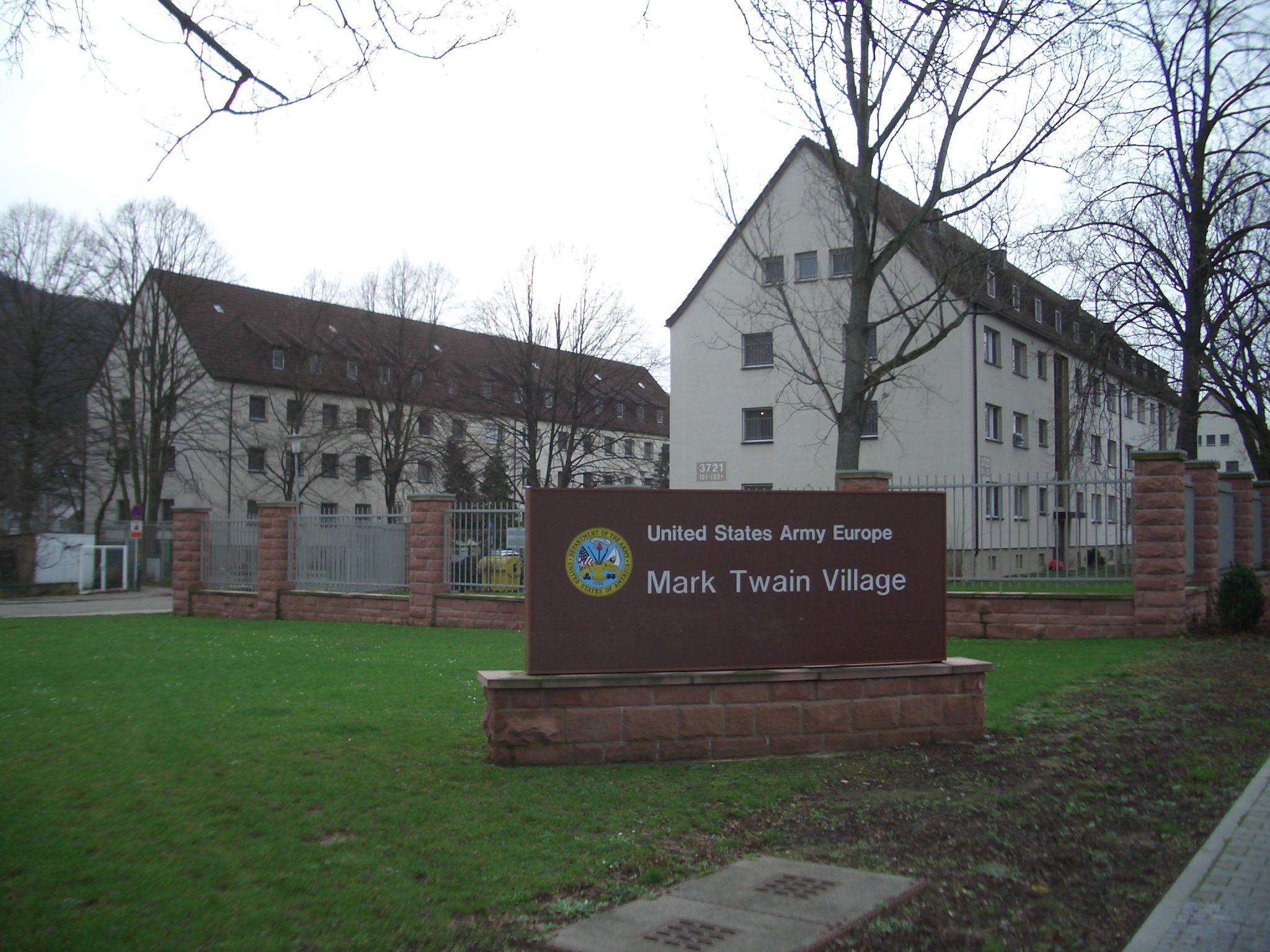 33 Holbeinring Mark Twain Village Heidelberg FRG Home 19791982