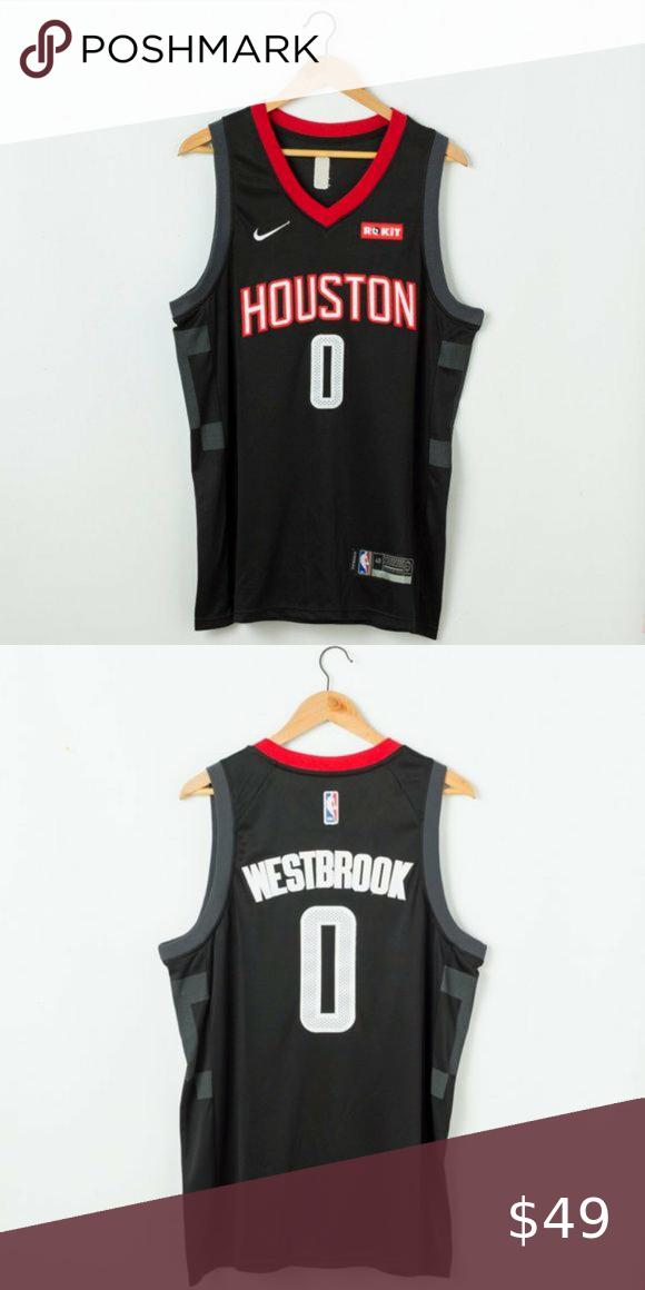Russell Westbrook Houston Rockets #0 Jersey Men