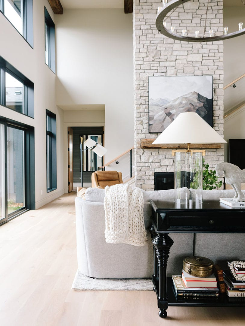 Take a Peek at This Modern Mountain Home | lark & linen