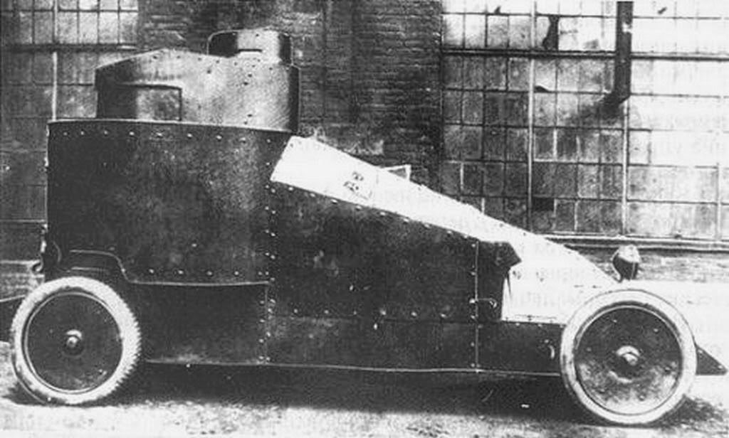 Mgebrov White Russian Armoured Car 1915 Case Report Armored
