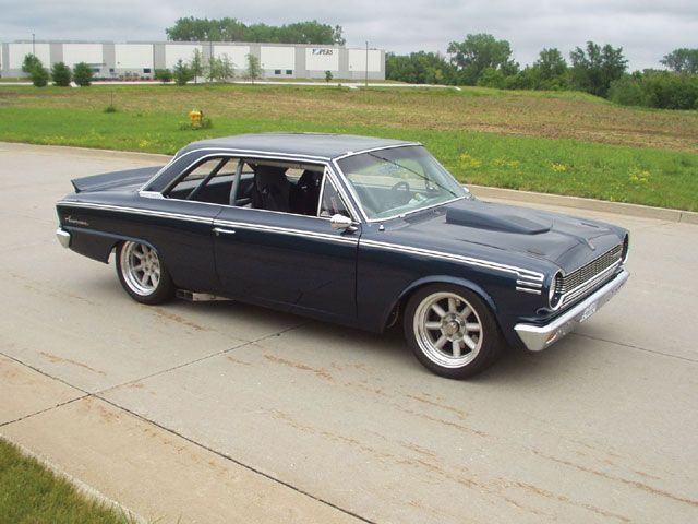 1965 Amc Rambler American 440h Hot Rods Cars Muscle