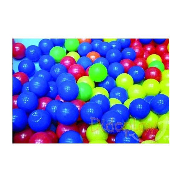Bolsa de 100 bolas para piscina 6 colores for Piscina de bolas toysrus