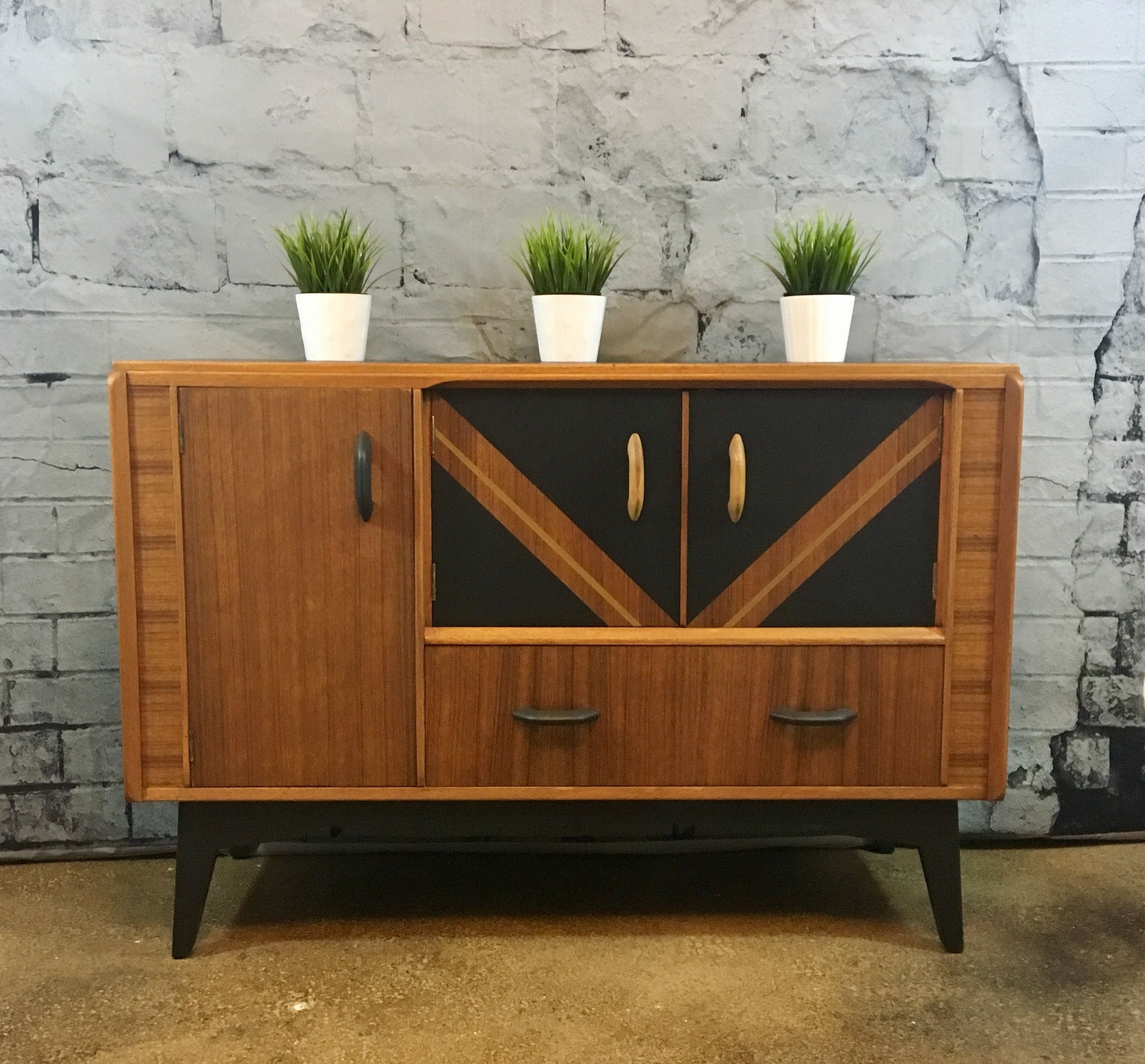 Early G Plan Brandon Sideboard given a new and updated look