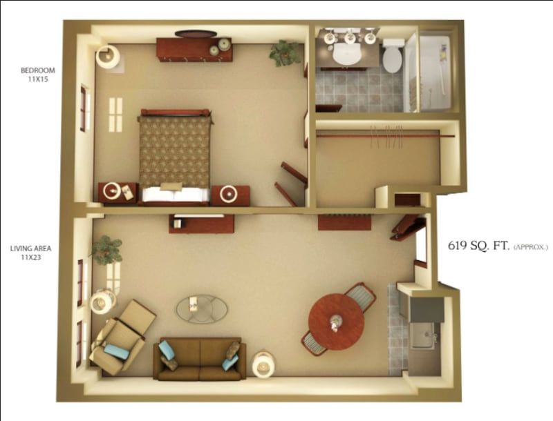 Google Image Result For Https Img Women Com Images Images 000 135 424 Large Mother In Law Suite Idea Mother In Law Apartment Basement House Plans Inlaw Suite
