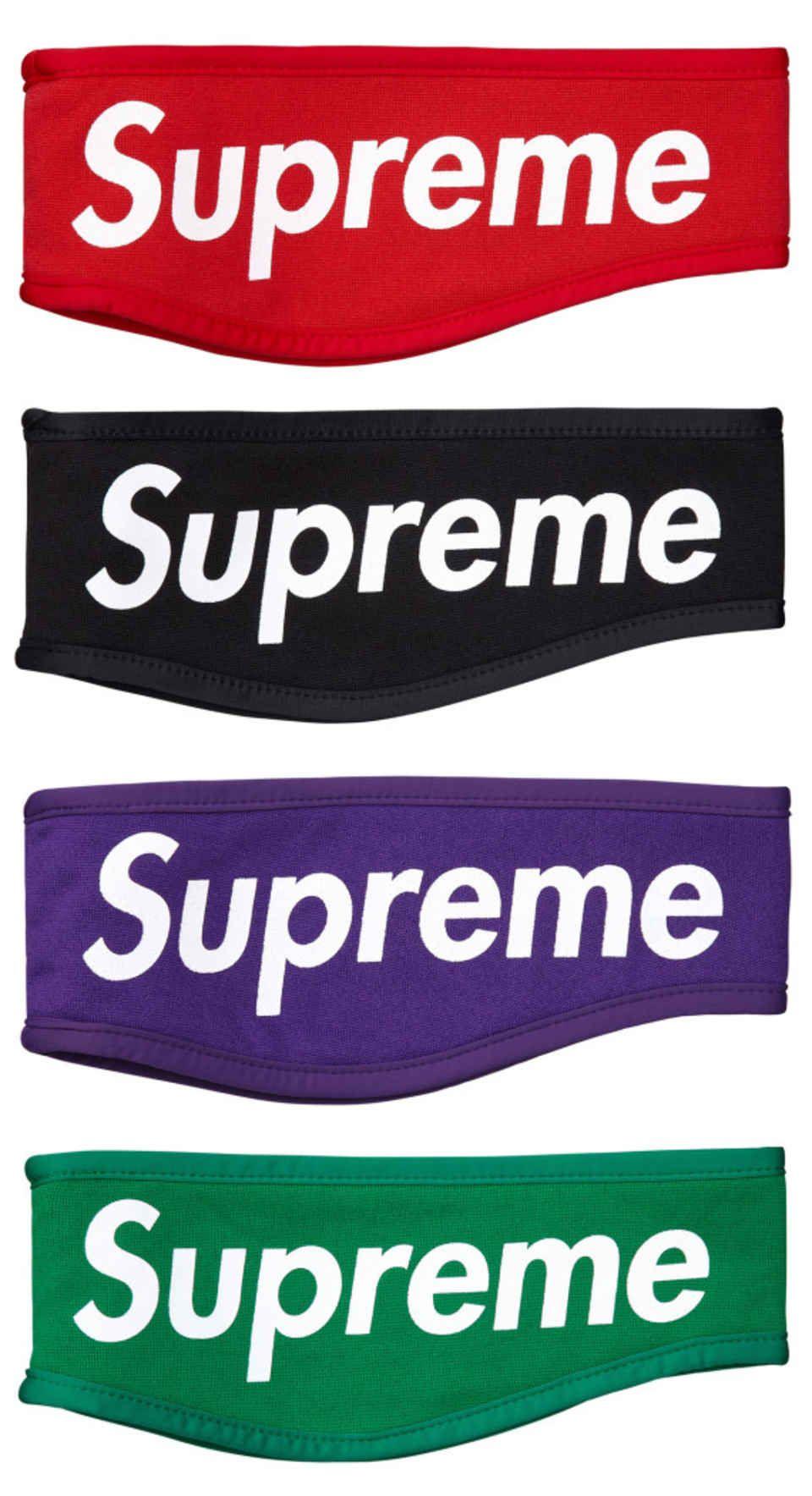 Supreme - Fleece Headbands  69329b908e0