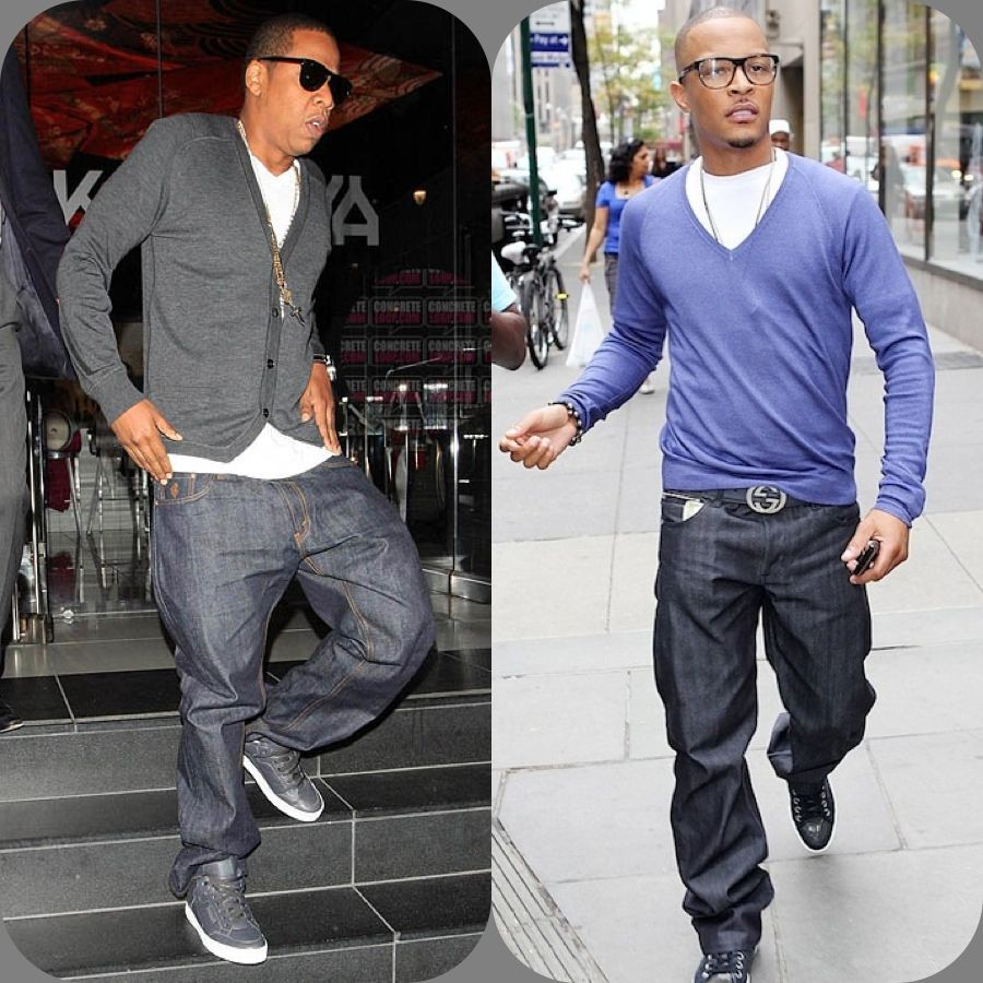 ti fashion style | Jay Z & T.I. looking business savvy in ...