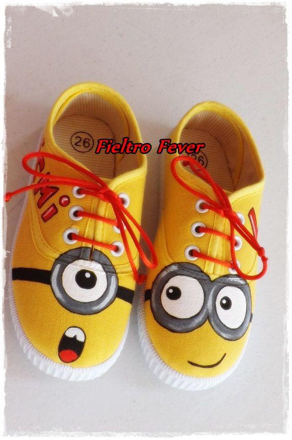 MePersonalized Shoes Minion Minion Me ShoesDespicable nXOw80Pk