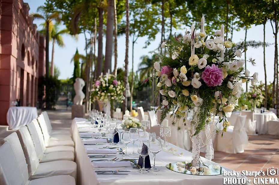 Outdoor Venue In Marbella On The Costa Del Sol