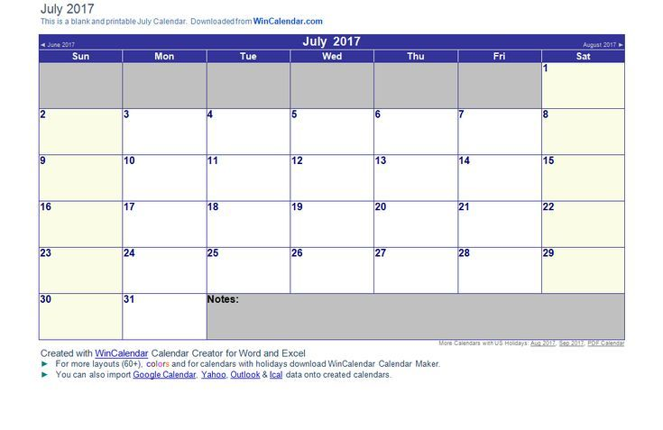 7 Top Place to Find Free Calendar Templates Gotta Get Organized
