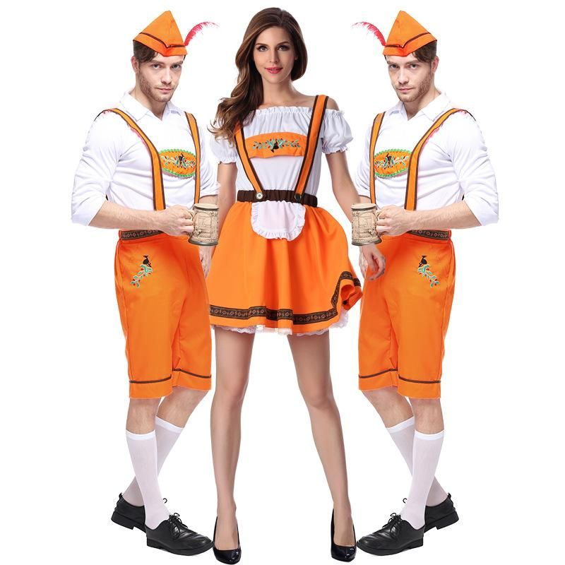 8a561748e0d3e Purim costume Oktoberfest maid waiter Girl Bavarian Guy white ...