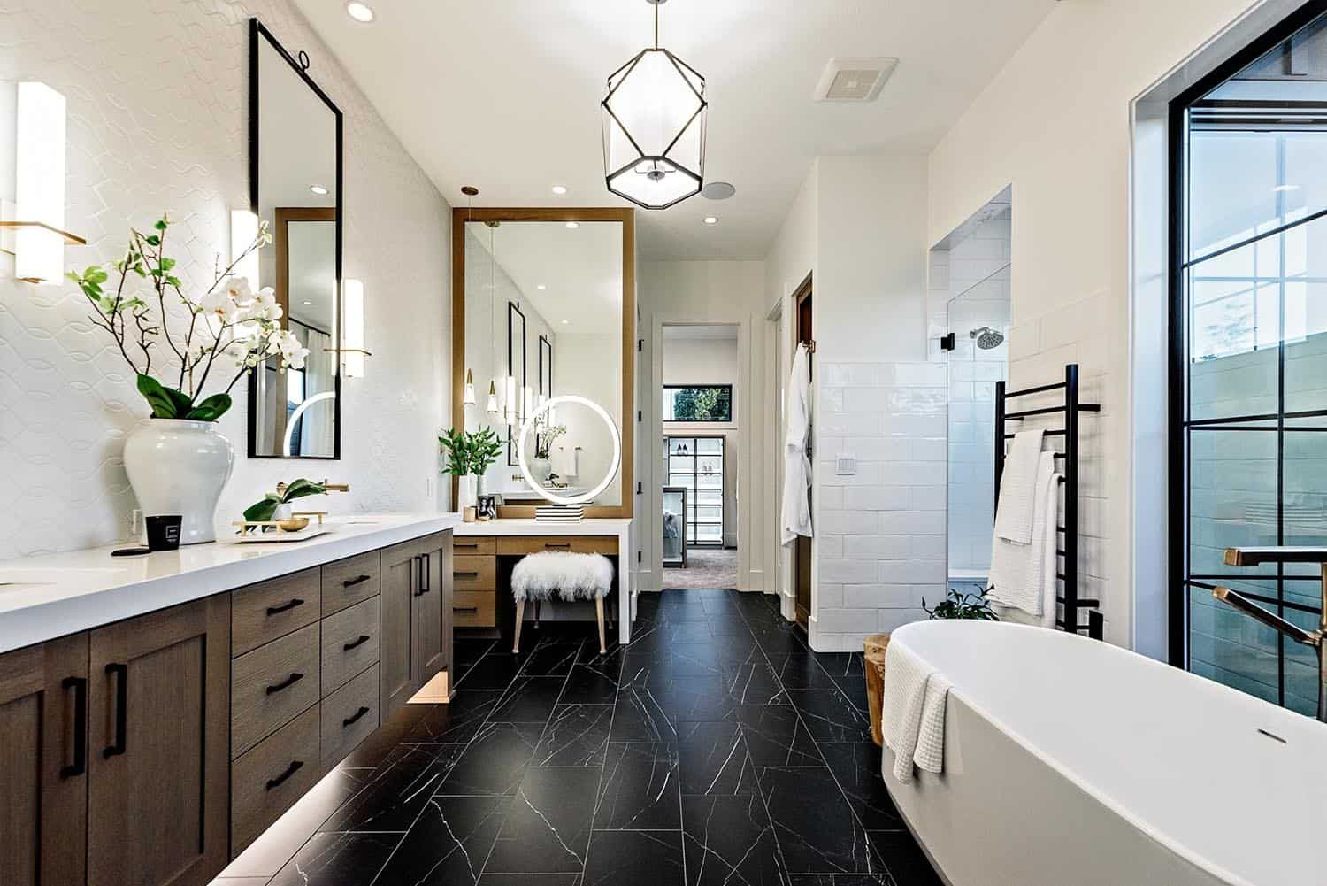 Farmhouse Style House In Oregon Has Absolutely Delightful Design Ideas In 2020 Farmhouse Style House Bathroom Remodel Master House