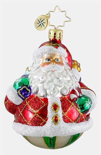 Christopher Radko Rollin Ruby Clause Ornament Nordstrom Glass Christmas Ornaments Christopher Radko Ornaments Christmas Ornaments