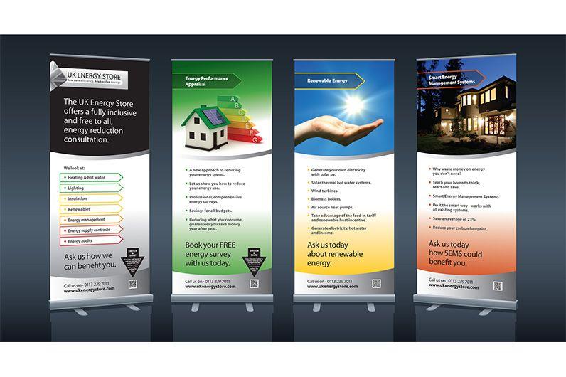 רול אפ 18 (With images) | Retractable banner design ...