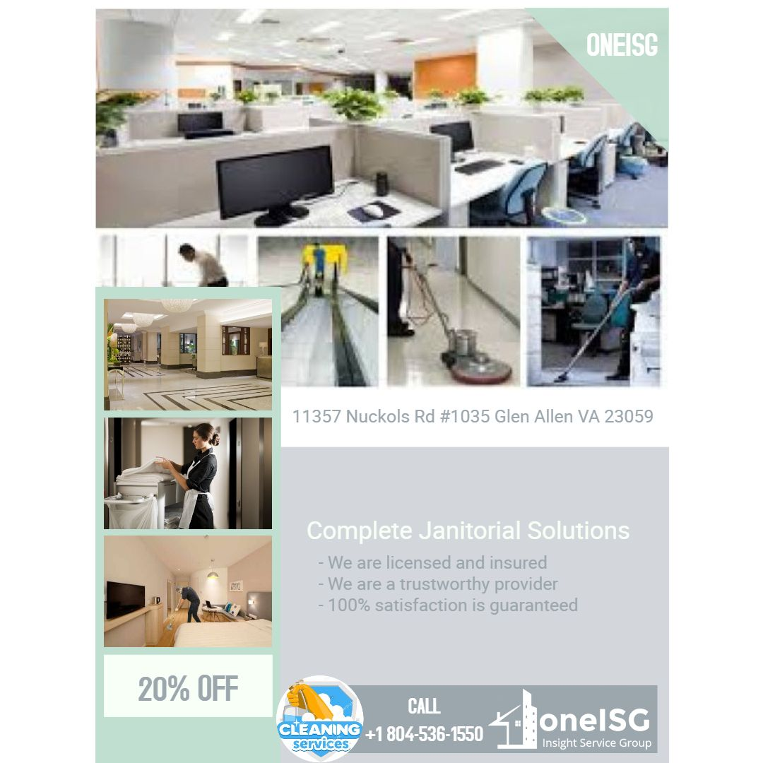 COMMERCIAL CLEANING SERVICES IN VIRGINIA BY INSIGHT SERVICE GROUP - Bathroom cleaning companies